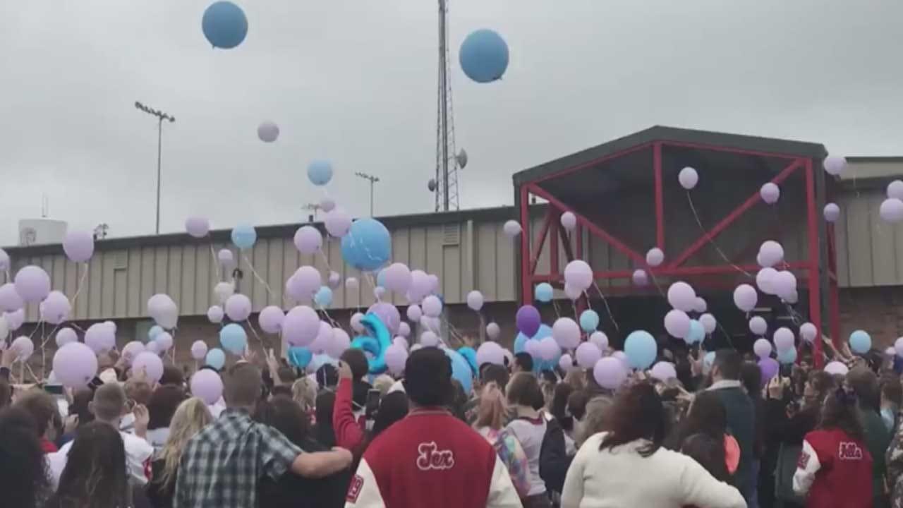 Funeral Held For McLoud Teen Killed In Shooting