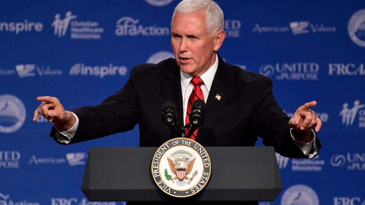Vice President Pence To Campaign For Kevin Stitt