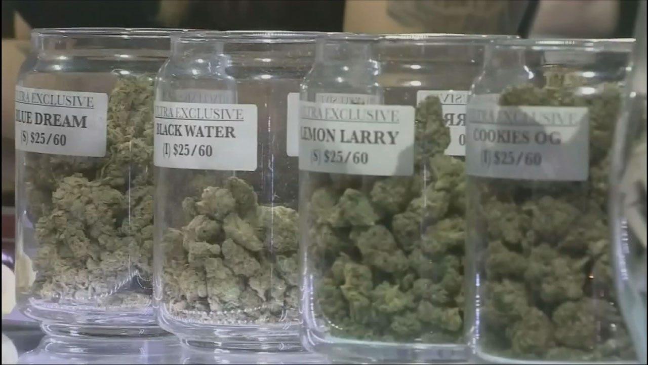 Business Brisk At Oklahoma Medical Marijuana Business