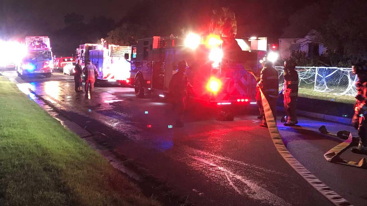 OKC House Catches Fire After Dogs Turn On Range