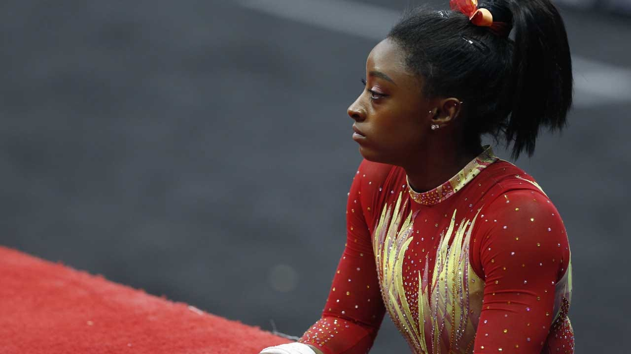 Simone Biles Criticizes Interim USA Gymnastics Chief For Anti-Nike Tweet