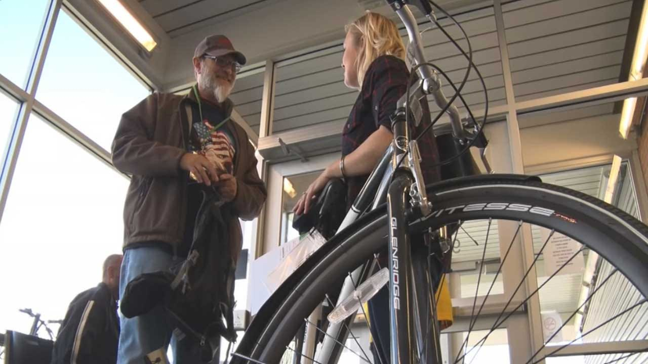 Bicycle Donations Help Working Oklahomans Overcome Homelessness