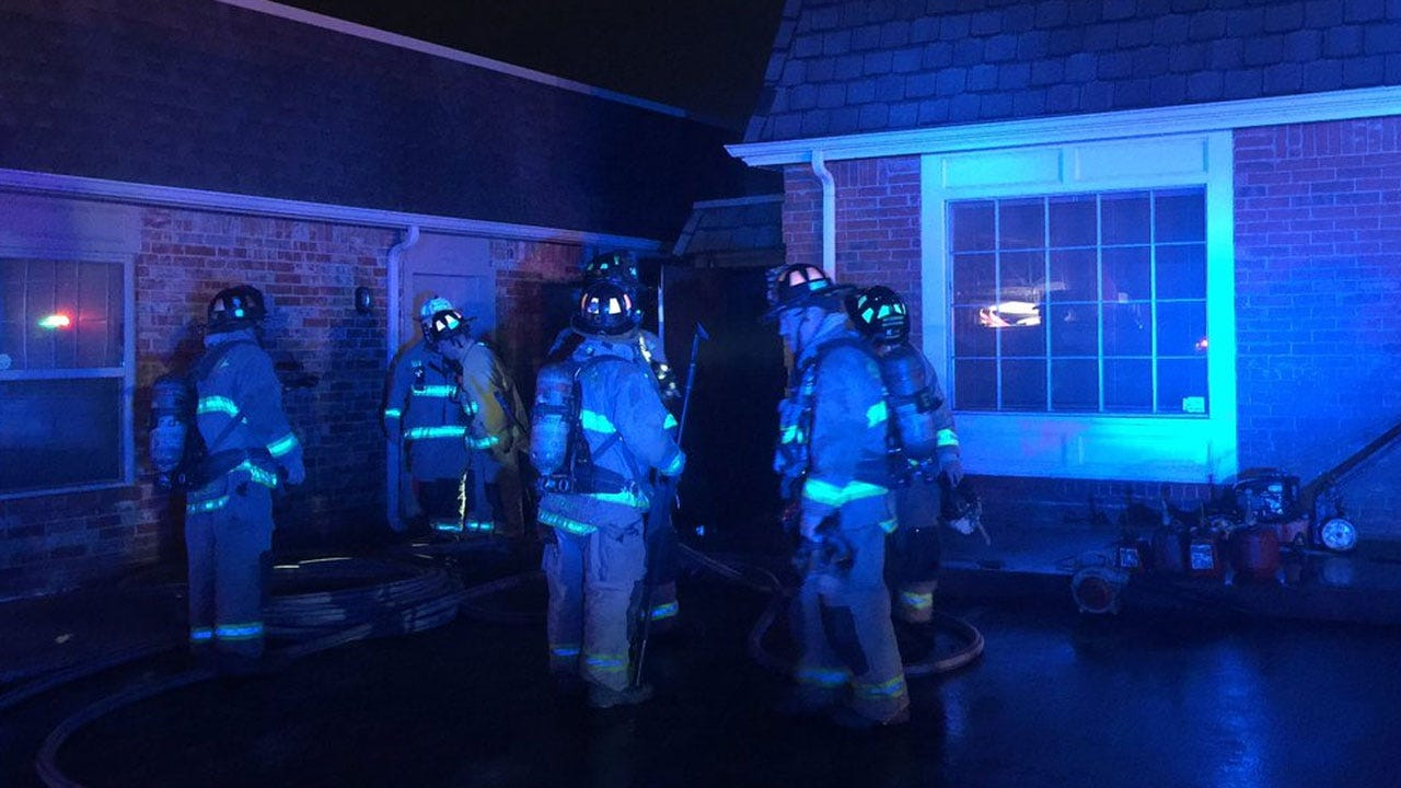Crews Extinguish Commercial Structure Fire In NW OKC