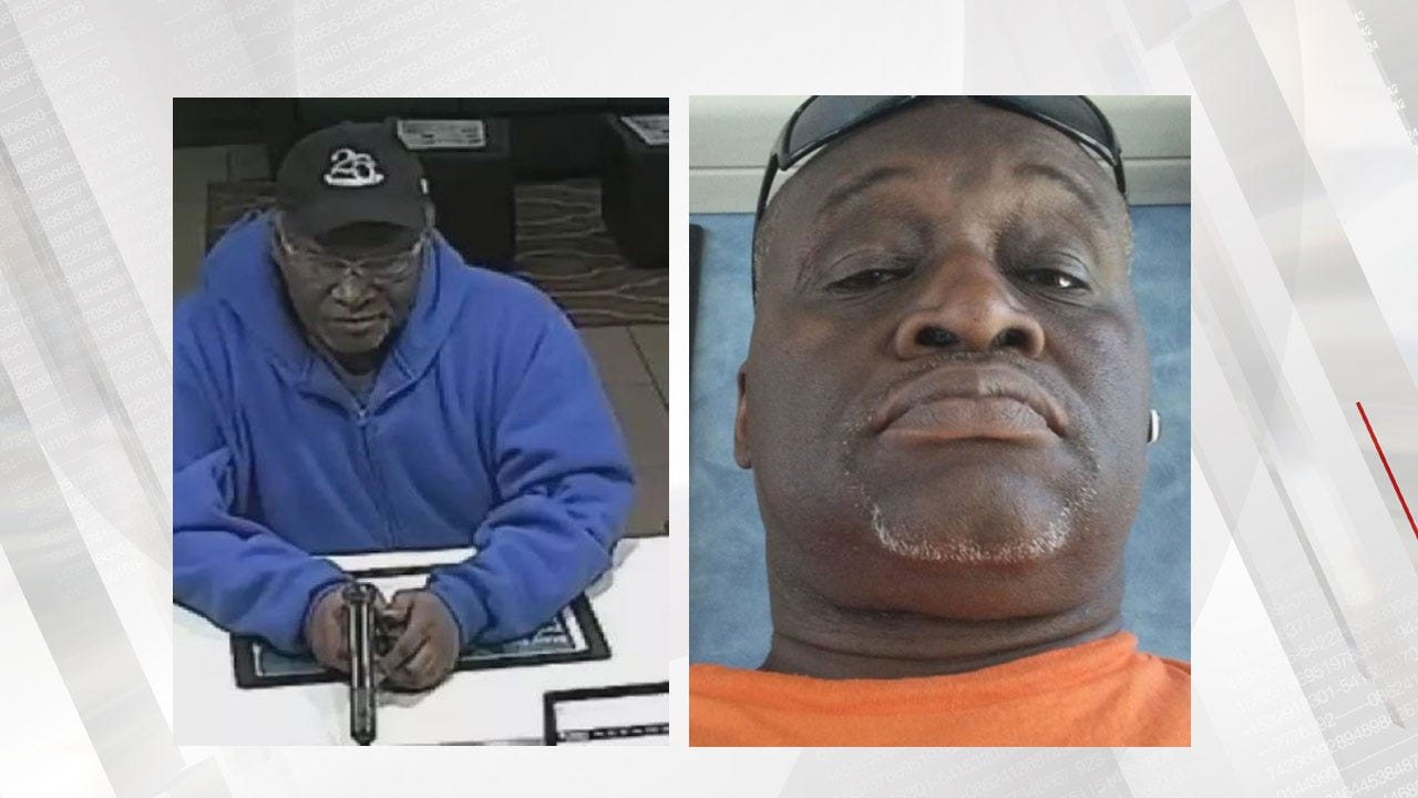 OKCPD Identify Serial Robbery Suspect, Ask For Public's Help