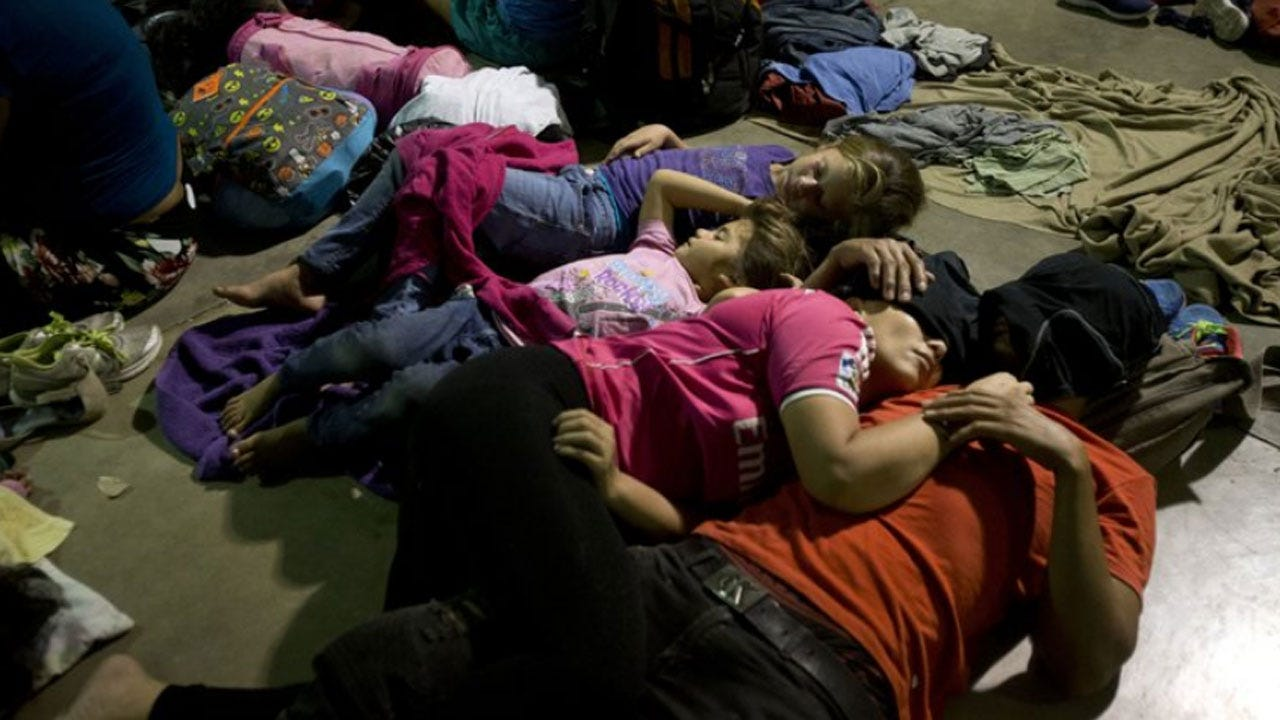 Trump Threatens Honduran Caravan That's Moved Into Guatemala