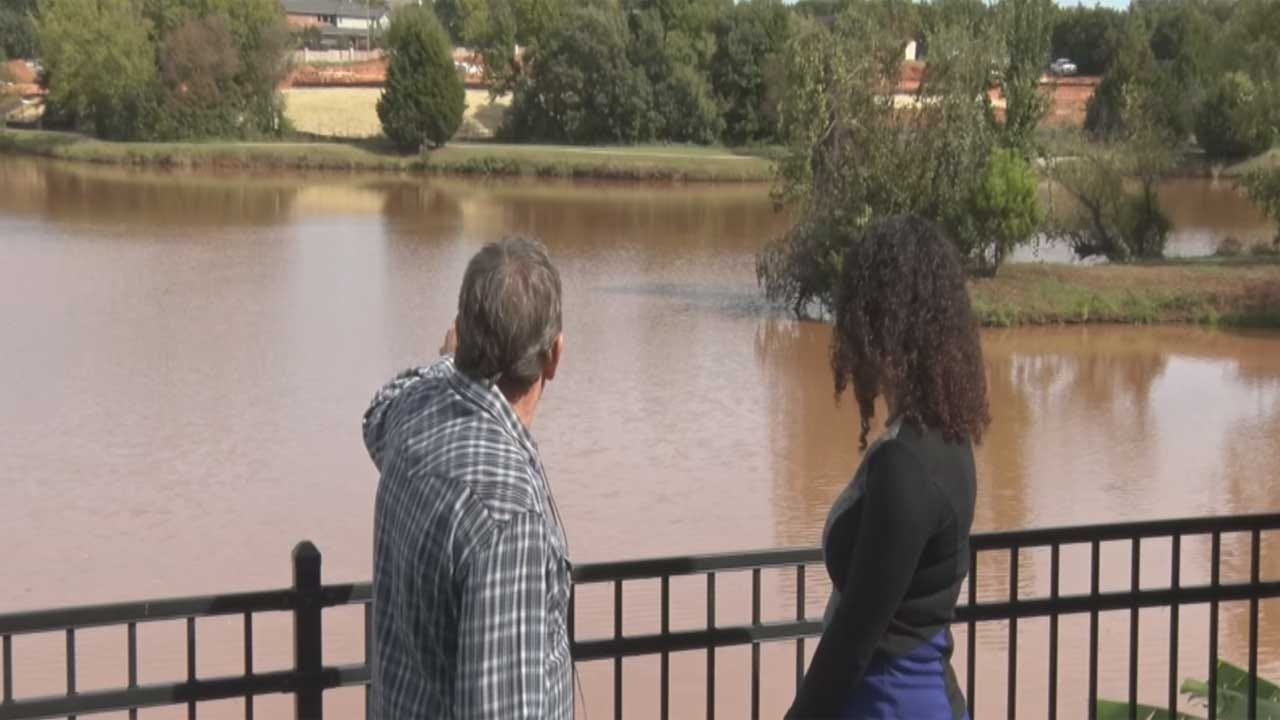 OKC Homeowners Say Church Construction Is Ruining Neighborhood Lake