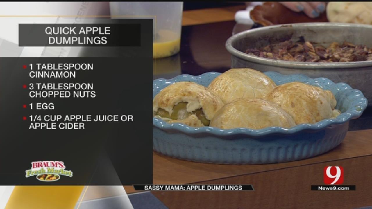 Quick Apple Dumplings
