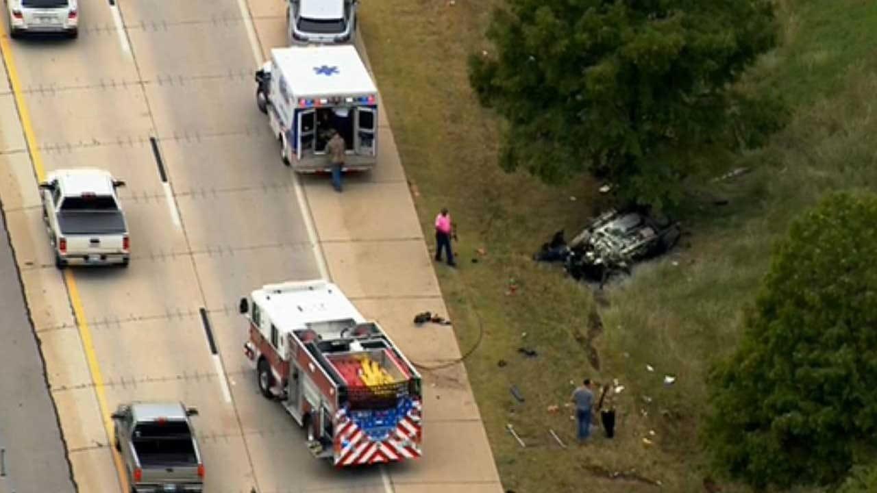Crash Reported In NE OKC On Kilpatrick Turnpike