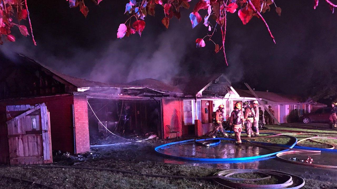 Crews Battle House Fire In Del City