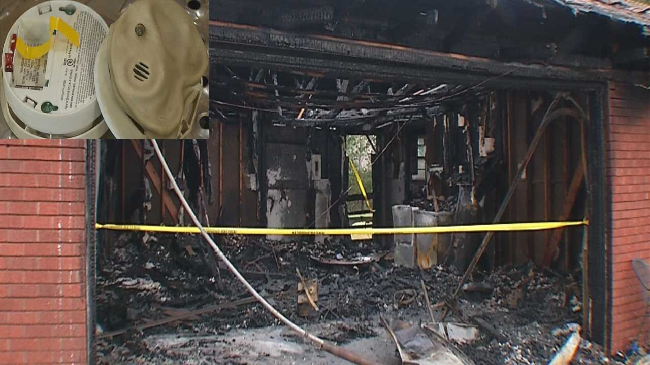 Del City FD Says Smoke Detectors Found With No Batteries After 4 Escape Fire