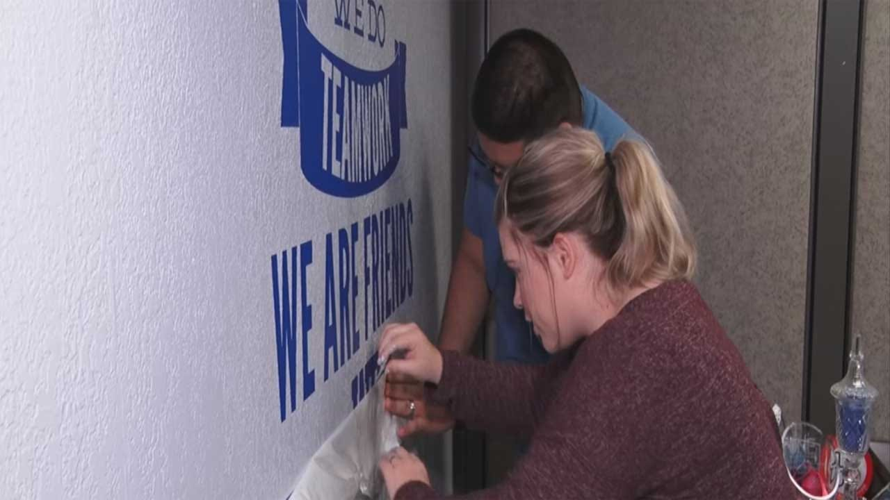 Volunteers Makeover OKC Non-Profit For United Way's 'Day of Caring'