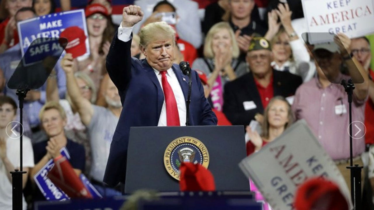 Trump Predicts Havoc If Democrats Take Over Congress