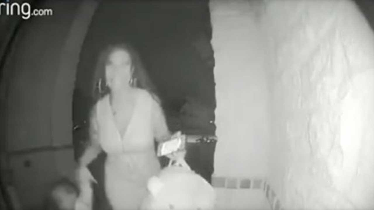 Woman Who Left Toddler On Porch In Viral Video Blames Child's Mother