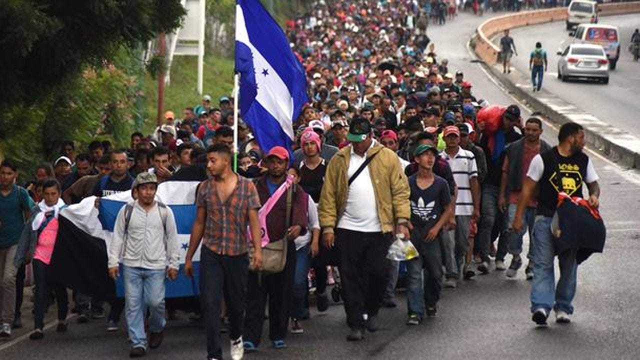 Caravan Of 7,000 Central American Migrants Continues North, Defying Warnings To Turn Back