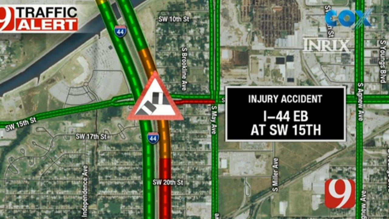 Crews Respond To Pair Of Injury Accidents Near SW 15th And I-44