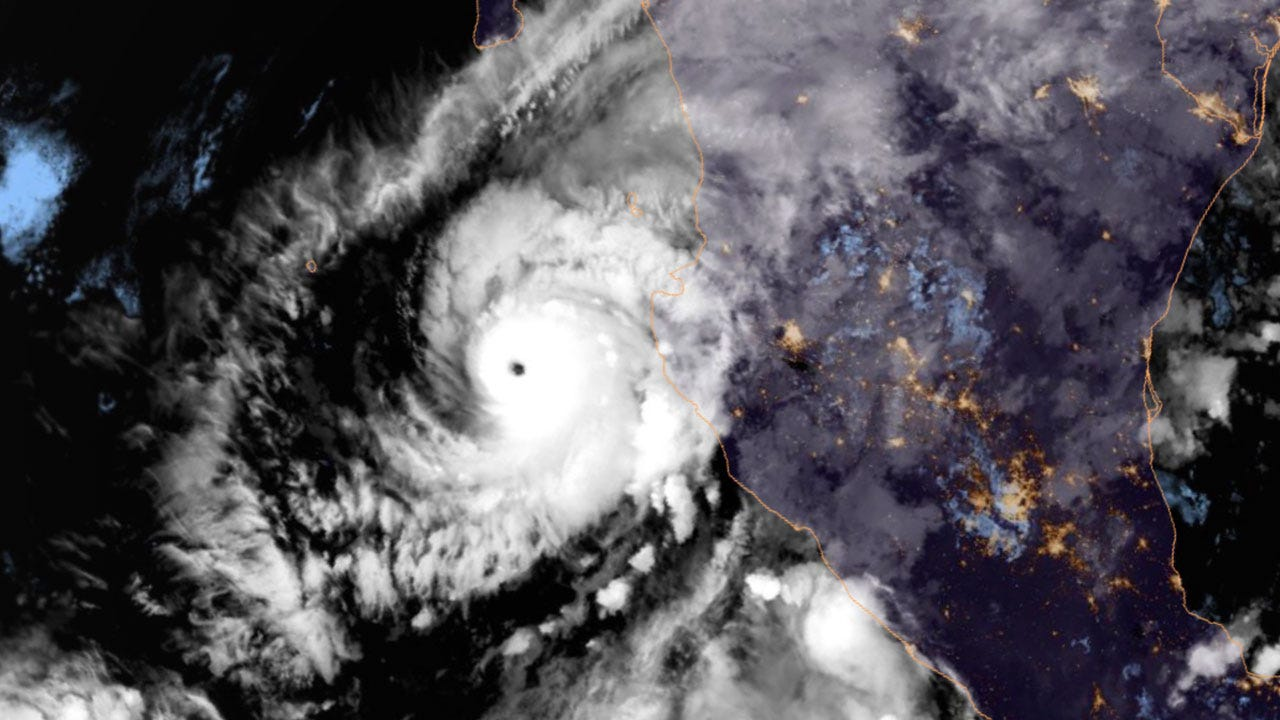 """Extremely Dangerous"" Hurricane Willa Menacing Mexico's Pacific Coast"