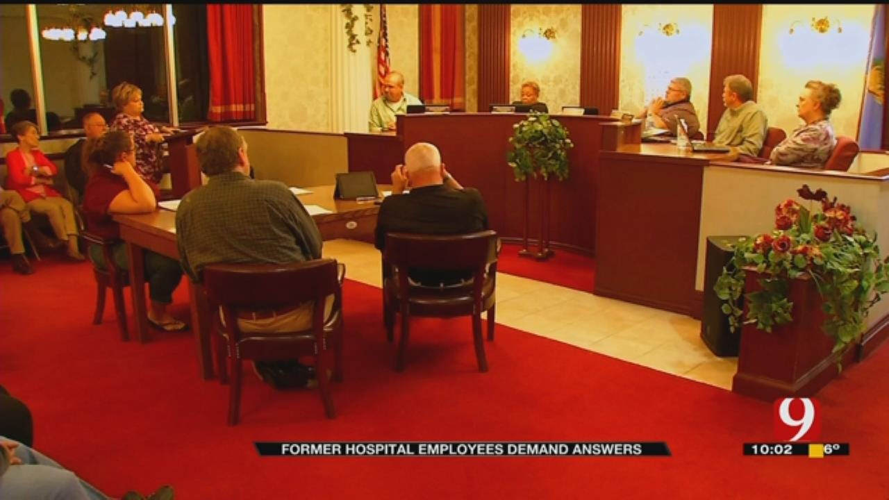 Former Pauls Valley Hospital Employees Demand Answers From The City