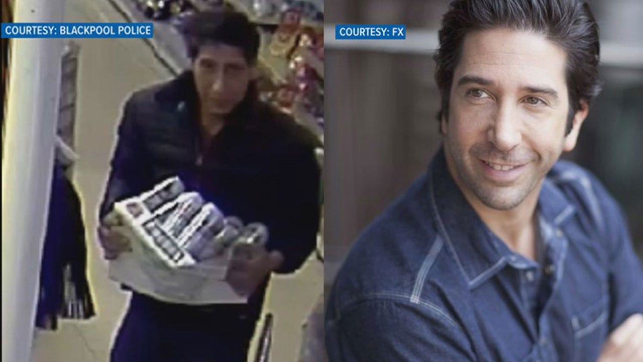 Suspected Thief Looks Like Ross From 'Friends;' Social Media Hilarity Ensues