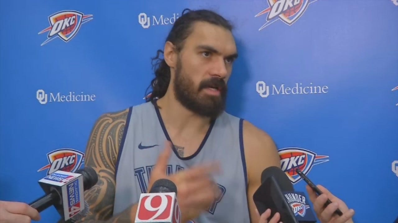 Thunder's Early-Season Woes Not A Matter Of Trying, Says Adams