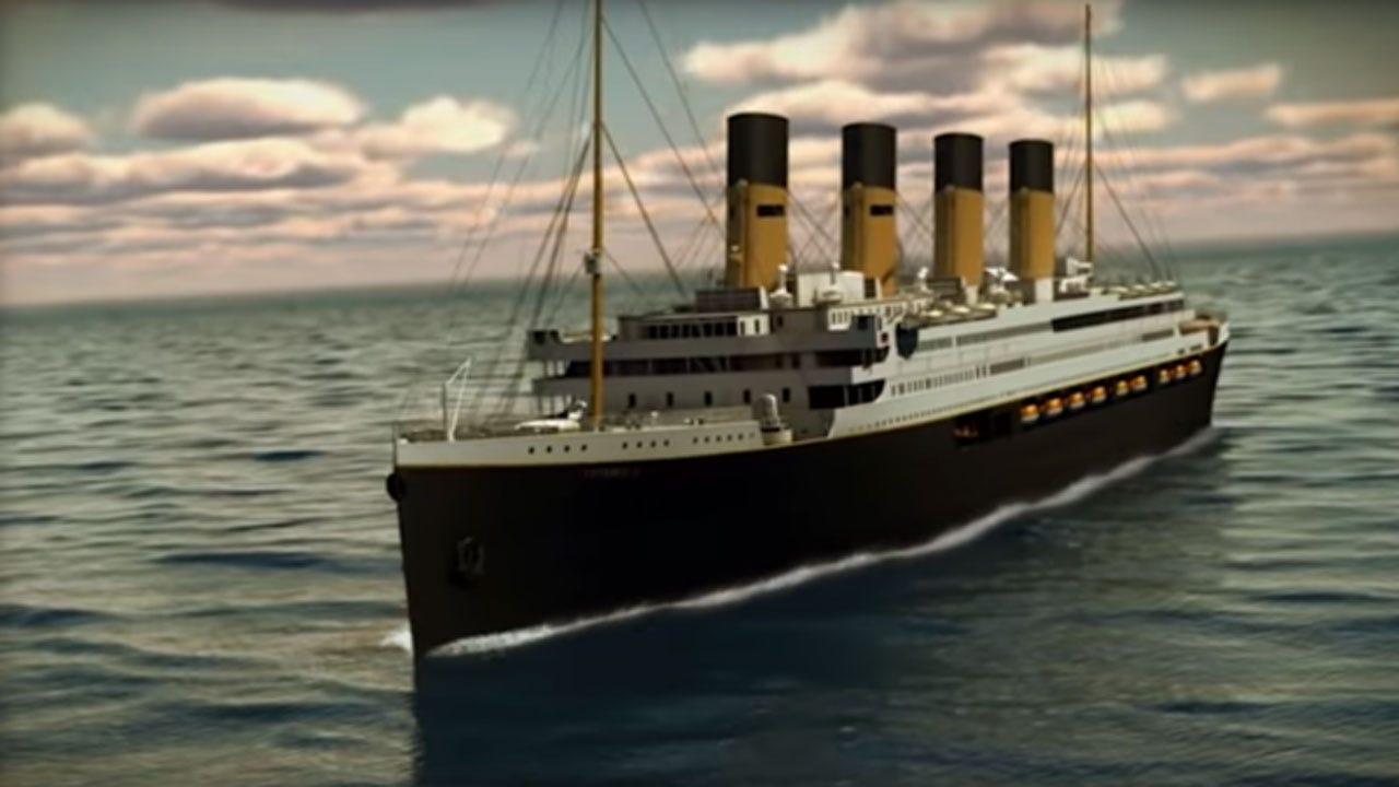 Titanic II Could Set Sail By 2022, Following Original Route