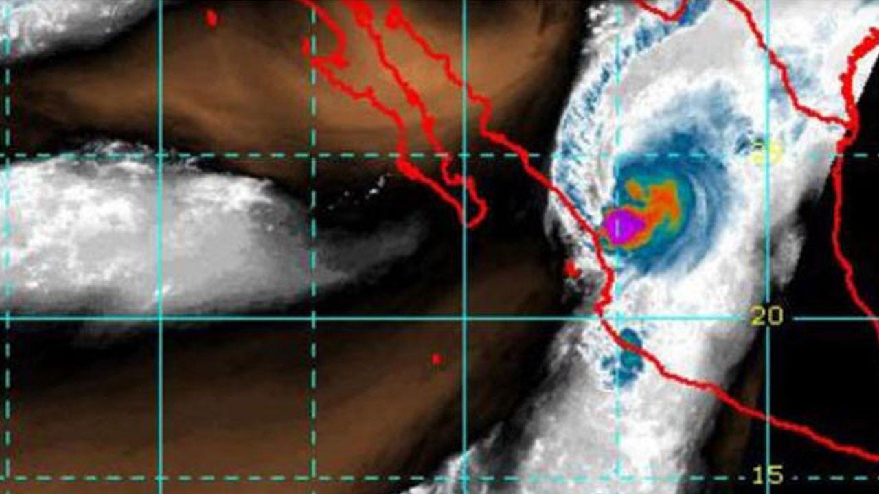 "Willa Dumping ""Torrential Rains"" On Parts Of Mexico After Becoming Tropical Storm"