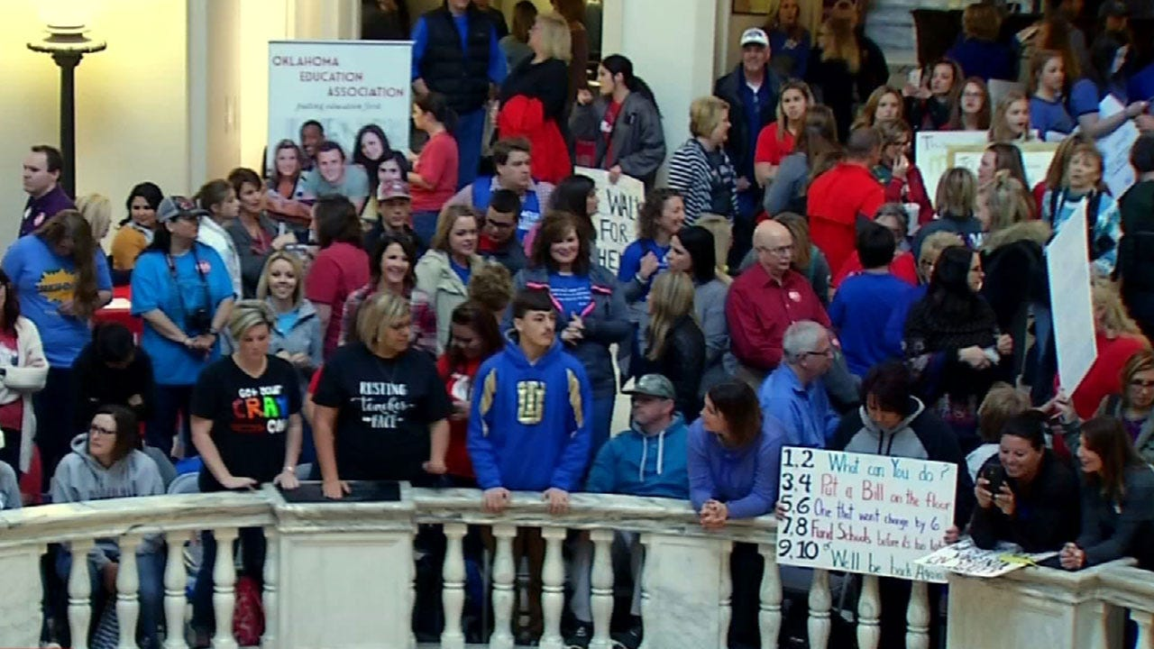 Organizers Plan For Big Numbers At Saturday's Teachers Rally