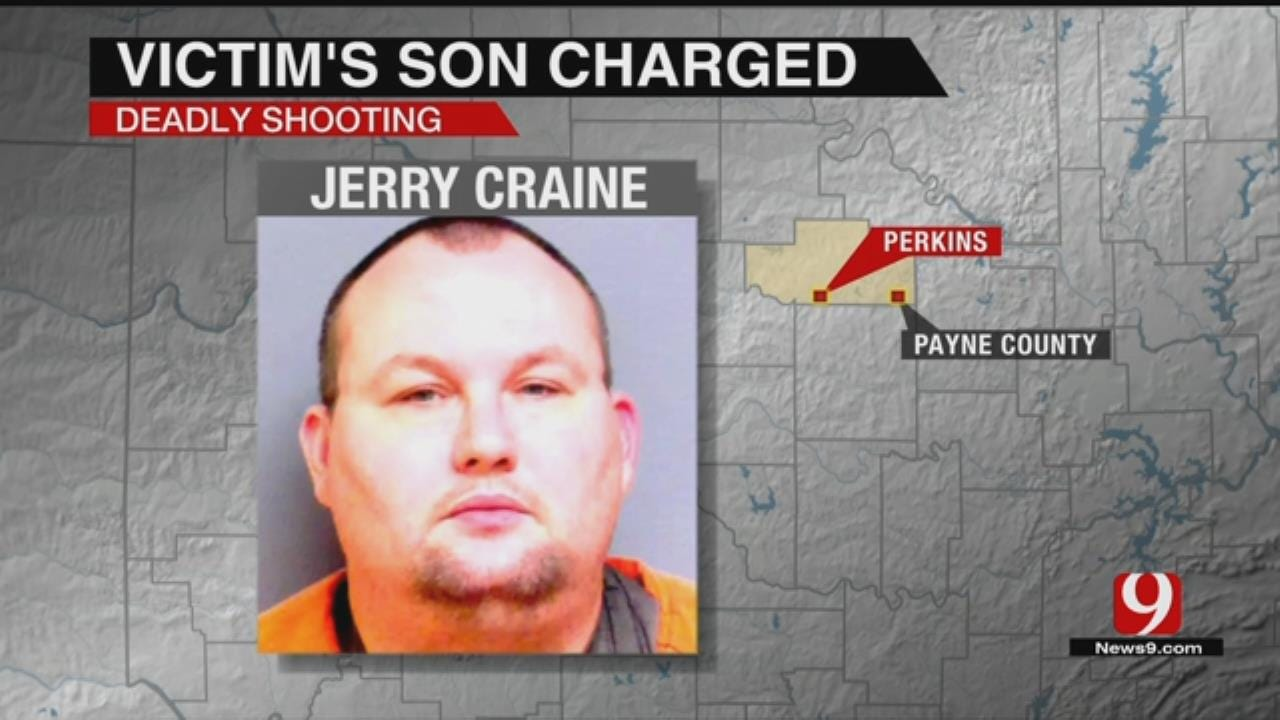 Perkins Man Charged In Shooting Death Of His Father