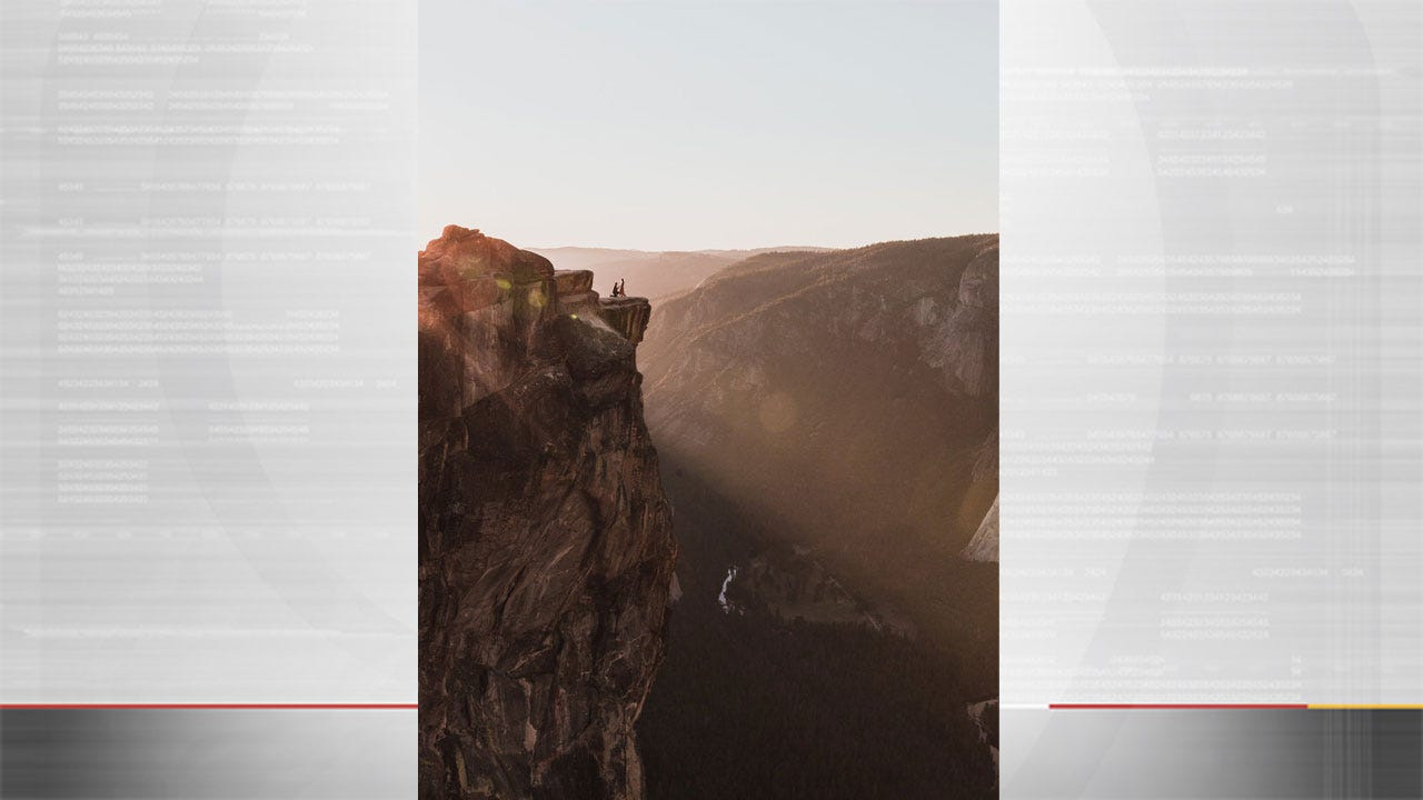 2 Dead In Apparent Plunge From Popular Yosemite Cliff; Engagement Photo At Cliff Went Viral