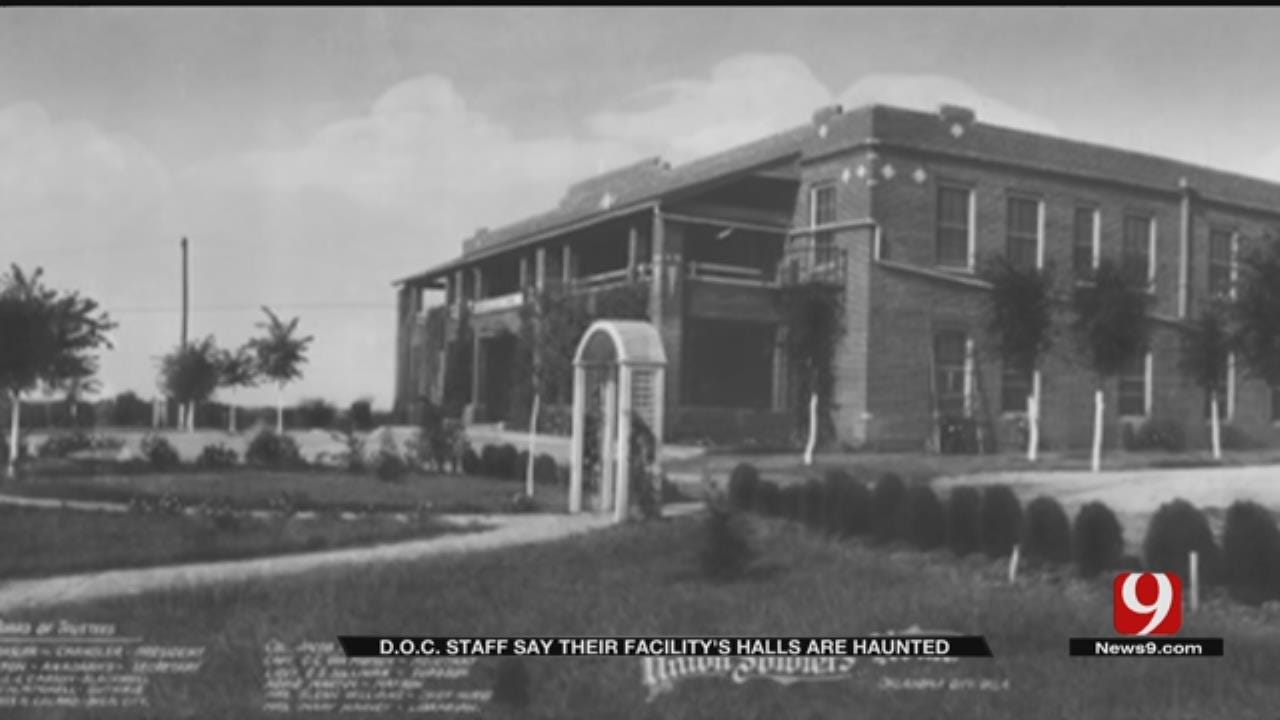 D.O.C. Staff Say Their Facility's Halls Are Haunted