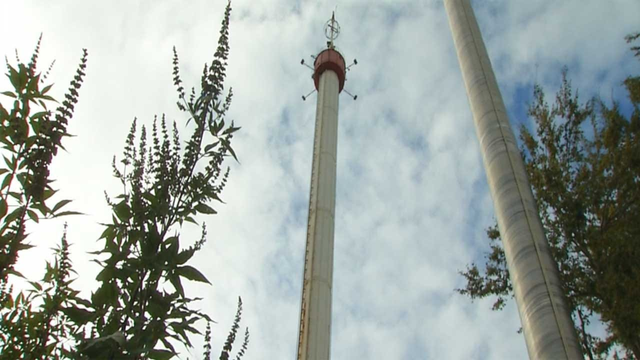 Historic Space Tower At State Fairgrounds To Be Taken Down