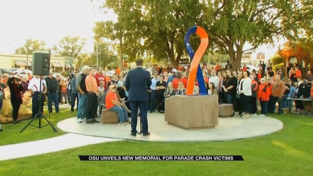 OSU Unveils New Memorial For Parade Crash Victims