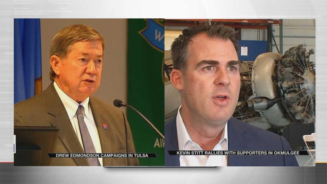 Edmondson And Stitt Campaigns Work To Energize Base