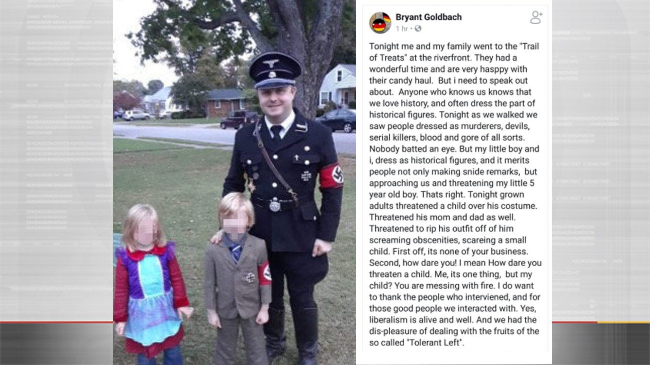 Man, Son Dress As Nazis For Halloween, Then Issue Apology