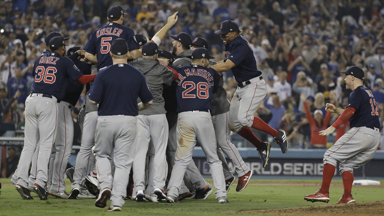 Red Sox Beat Dodgers 5-1 In Game 5 To Win 4th World Series In 15 Years, Cap Historic Season