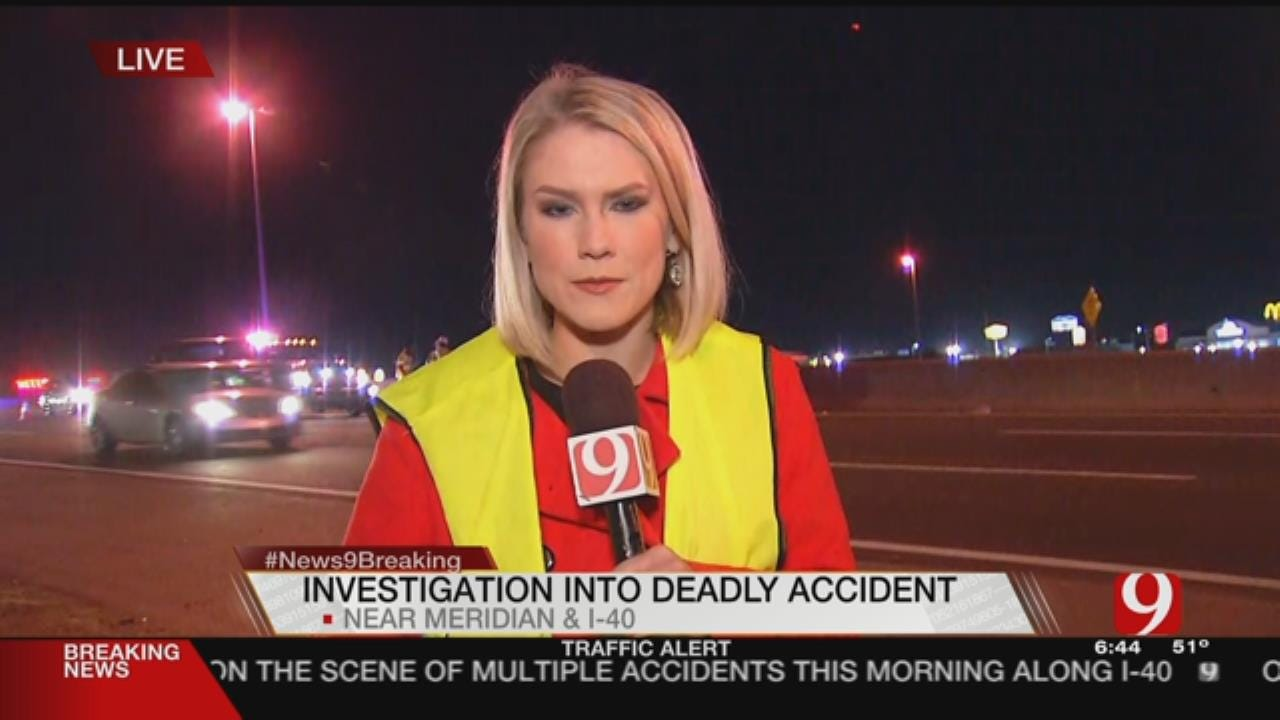 Troopers Looking For Vehicle That Caused Multiple Accidents, Fatality Along I-40