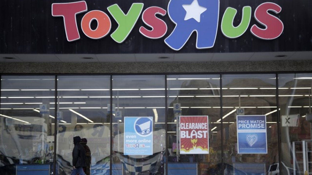 Toys R Us Plots A 2nd Act With New Look, New Name