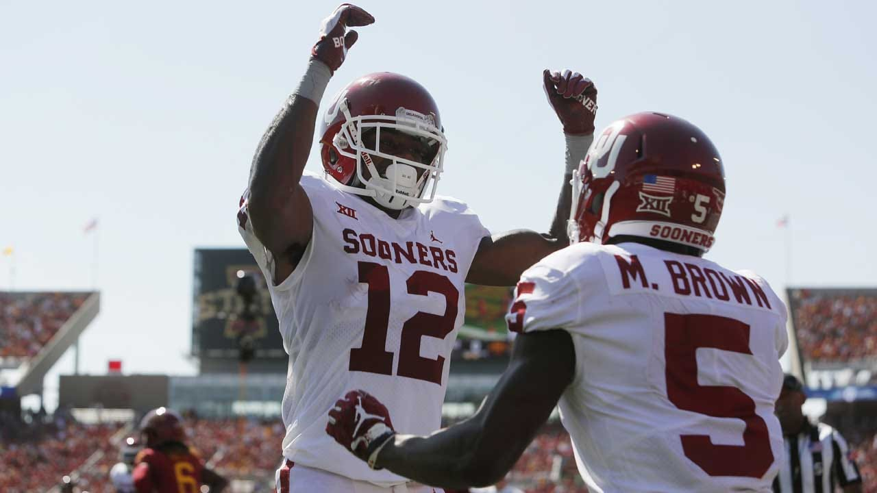 Murray And No. 5 Oklahoma Hold Off Iowa State 37-27