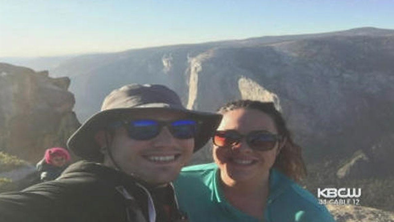 Selfie Appears To Show Woman Before She, Husband Fell To Their Deaths At Yosemite