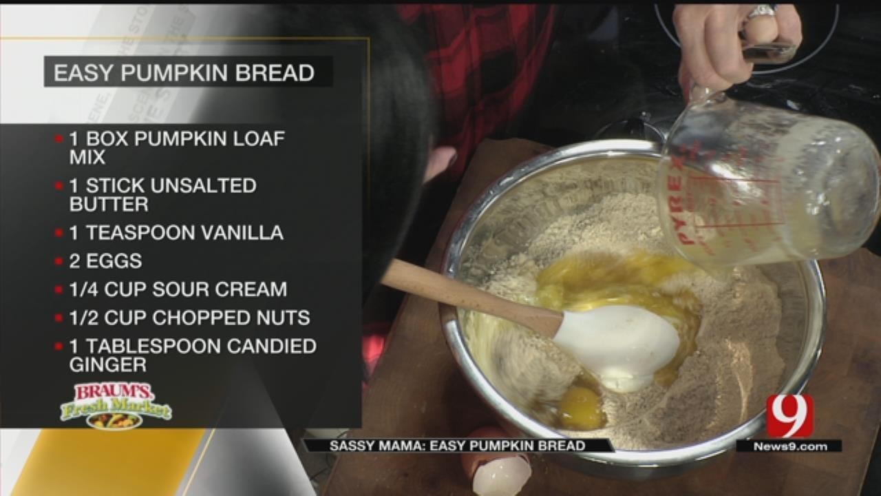 Easy Pumpkin Bread