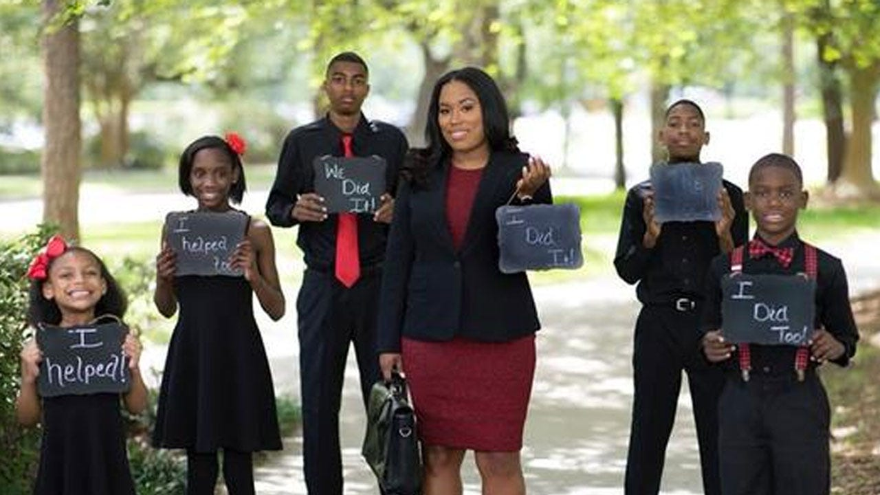 Mom Passes Bar Exam After Graduation Photos With Her Kids Went Viral