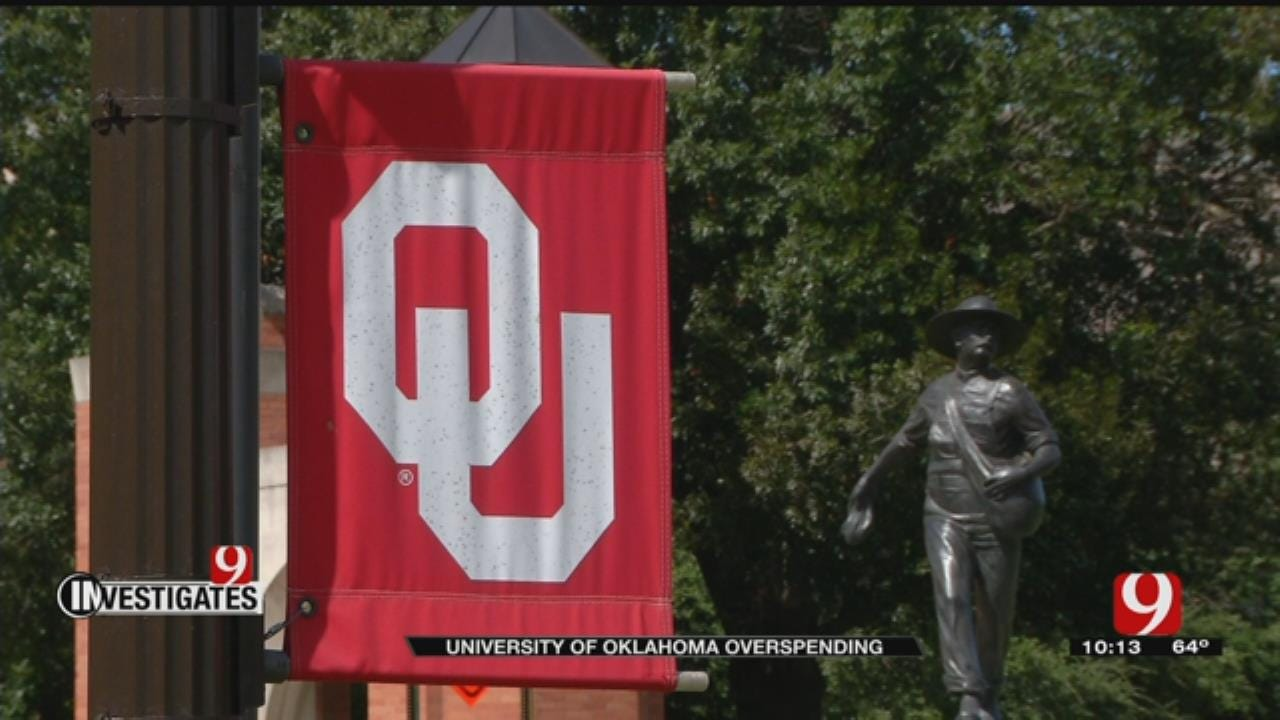 News 9 Investigates: University Of Oklahoma Overspending