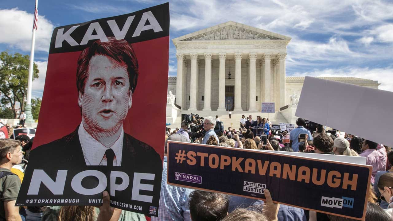 Brett Kavanaugh Protests: Over 100 Arrested On Capitol Hill, Police Say