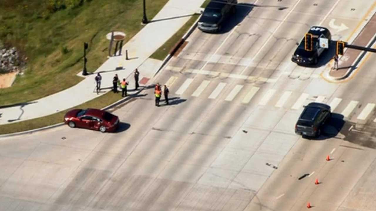 Child Dies After 2-Vehicle Crash In Edmond