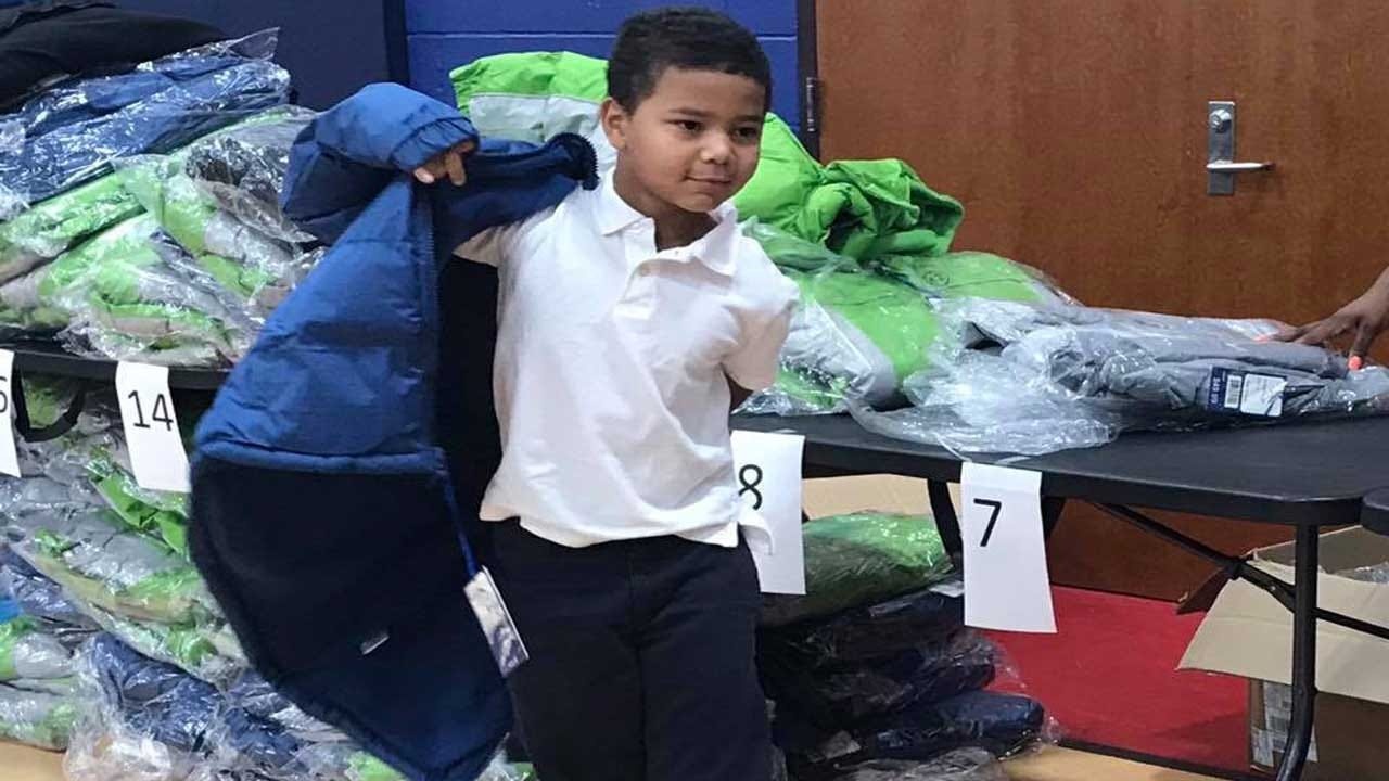 OKC Students Warm Up With New Coats Ahead Of Winter