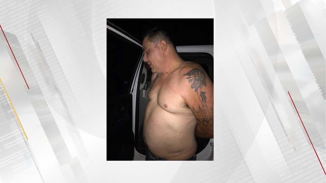 Shawnee Man Captured After Attacking Stepson With Machete