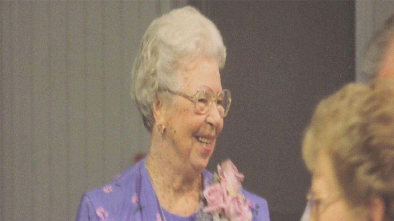 101-Year-Old Grand Marshal At UCO Homecoming