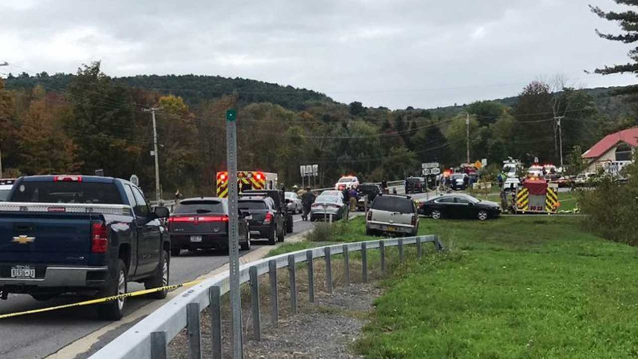 20 Killed In Crash Involving Limo Reportedly Carrying Wedding Party In Upstate New York
