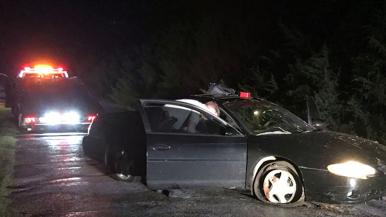 4 People In Custody After A High Speed Pursuit Ends Near El Reno