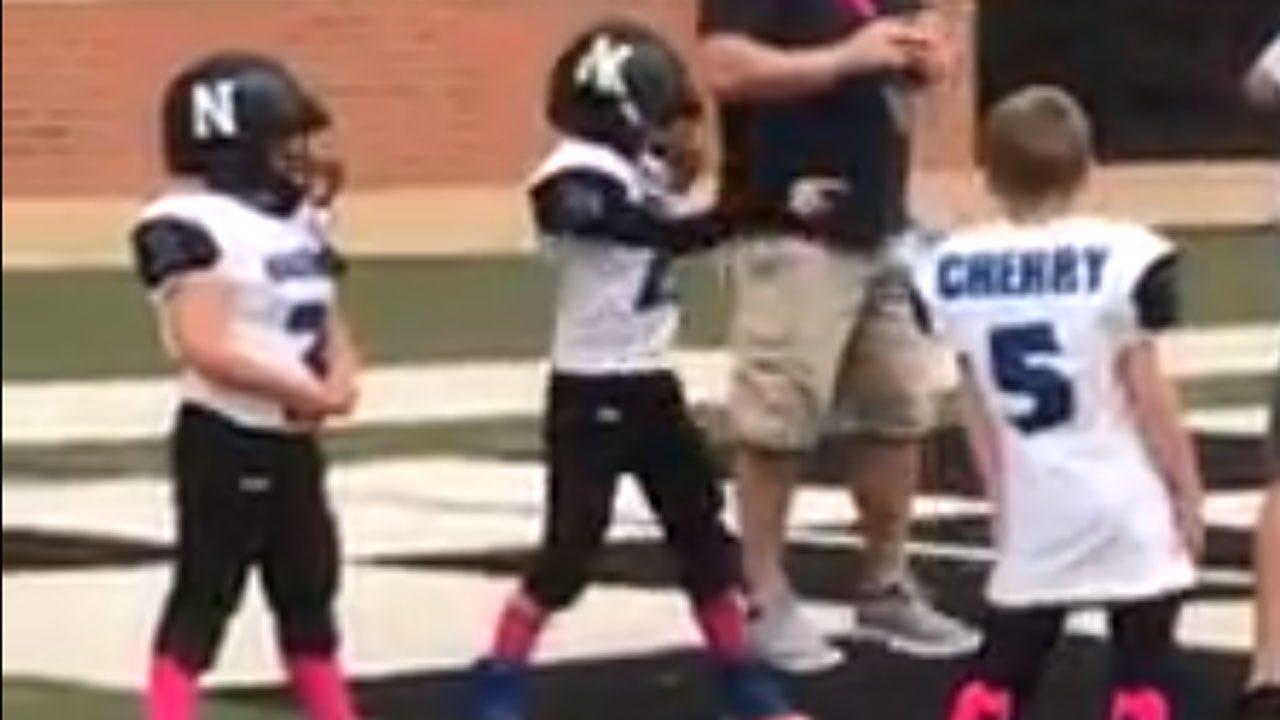 Going Viral: Oklahoma Boy Does Pregame Dance