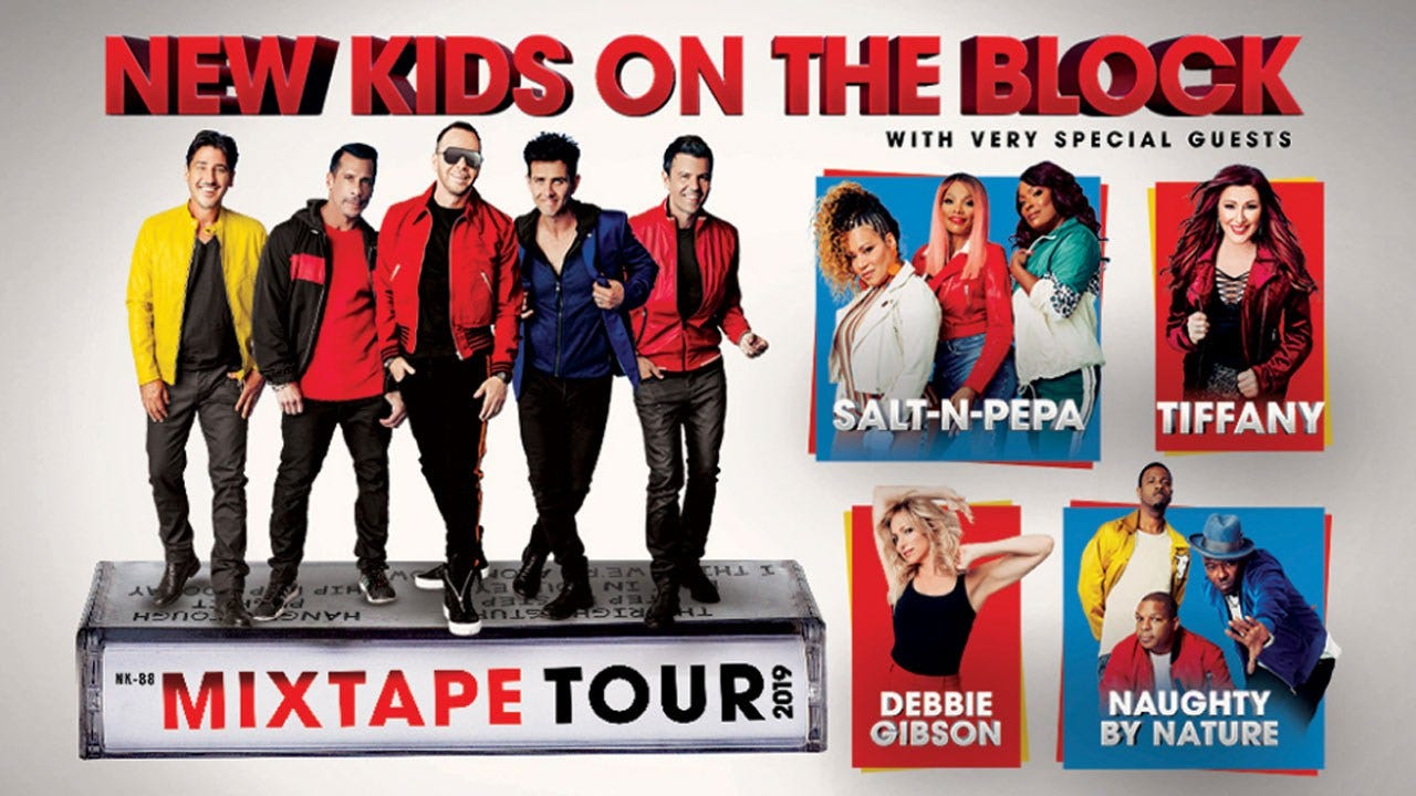 New Kids On The Block Announce 'MixTape Tour' With Musical Guests
